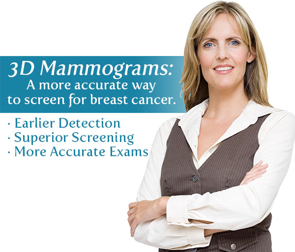 Diagnostic Radiology Associates (DRA) offers 3D Mammograms.